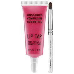 Obsessive Compulsive Cosmetics Lip Tar in Pretty Boy #COLORVISION #InfraredRouge #Sephora #SephoraSweeps