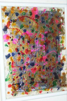 Colores Lacas sobre Vidrio 30x40 Vendido