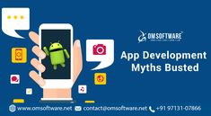 These are some of the myths that we have busted today with respect to the mobile application development eco-system. Visit OmSoftware for more information now. Mobile App Development Companies, Mobile Application Development, Technology, Blog, Tech, Tecnologia