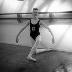Young dancer wearing Galate