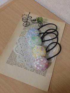 ハンドメイド リバティヘアゴム ホビーラジューンズメドウ Handmade ¥400円 〆03月17日