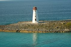 Lighthouse in the Bahamas