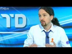 Entrevista de Ana Blanco a Pablo Iglesias en los informativos de TVE