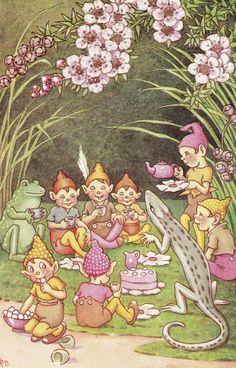 Tea Tree ❤•❦•:*´¨`*:•❦•❤ A Bunch of Wild Flowers (1933)