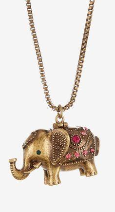 Betsey Johnson | Elephant Pendant Necklace