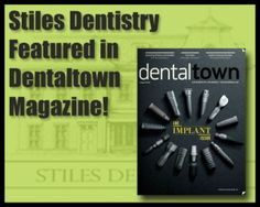 Check out the article about our office on dentaltown magazine.
