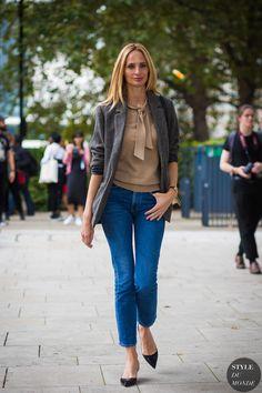London SS 2017 Street Style: Lauren Santo Domingo   STYLE DU MONDE   Bloglovin'