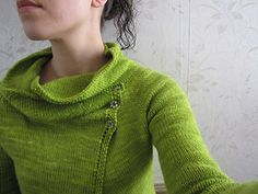 Clarity Cardigan by Gretchen Ronnevik Top down, seamless. Sport. Madelinetosh or Quince & Co.
