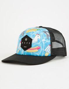 b51026758dfa7 NEFF Hot Tub Mens Trucker Hat - MULTI - 18P00006-POOLPA
