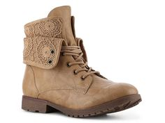 Rock & Candy Spraypaint Lace Combat Boot