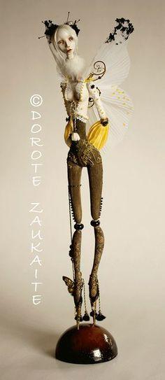 tireless artist | Butterfly Spirite by Tireless Artist, via Flickr | Delightful Dolls