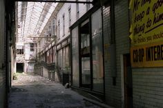 The old Co-op Arcade before demolition. Old Images, Old Photos, Aberdeen Scotland, Silver City, My Family History, Iron Gates, North Sea, Poster On, Arcade