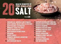 Himalayan salt is one of the most valuable food additives, as it is the healthiest, purest salts. It originates from the Himalayan caves and is Himalayan Salt Benefits, Himalayan Pink Salt, Lemon Benefits, Coconut Health Benefits, Pink Salt Benefits, Salt Cave Benefits, Natural Cures, Natural Healing, Health Tips