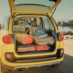 It's easy to get lost in the #FIAT 500L. #CargoSpace