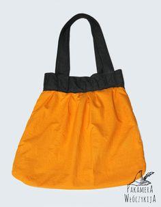 Pojemna torba dwustronna - strona radośnie żółta :)  http://pakamera.wix.com/pakamera-wloczykija#!przepastna-torba/c20pq