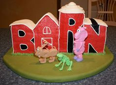 Word World Cake by LeckieAnne, via Flickr