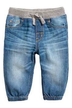 Pull-on jeans - Denim blue - Kids Baby Boy Fashion, Toddler Fashion, Kids Fashion, Fashion Wear, Fashion Dolls, Baby Boy Outfits, Kids Outfits, Kids Clothes Australia, Kids Clothing Rack
