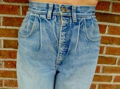 Vintage Mom Jeans High Waisted 80s Denim Jeans  by TaborsTreasures, $21.00   on Etsy!
