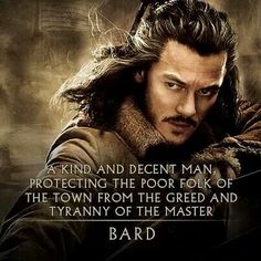 Bard the Bowman- why I think he's pretty cool.