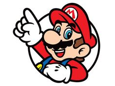 Super Mario 64 clipart CDR vector graphics by theflashgraphics