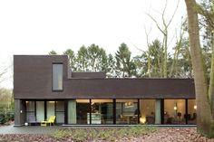 Moderne realisatie in houtskeletbouw