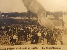 RARE Photo Postcard Santos Dumont N 6 Brazil After Crashing Early Aviation | eBay