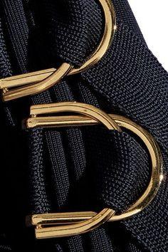 Antonio Berardi - Asymmetric One-shoulder Stretch-knit Wrap Dress - Navy - IT48
