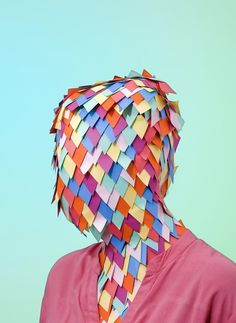 Abstract Pantones / paperhead