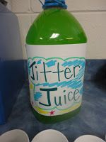 Back to School Jitter Juice and first day of school activities!