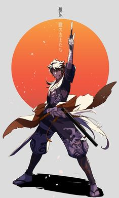 All Anime, Anime Guys, Samurai Anime, Mutsunokami Yoshiyuki, Bungou Stray Dogs, Manga, Touken Ranbu, Character Design Inspiration, Dungeons And Dragons