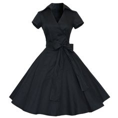 Material: Cotton,Polyester,Spandex Style: Vintage Silhouette: Ball Gown Sleeve Length: Short Decoration: Bow Dresses Length: Knee-Length Sleeve Style: Regular Waistline: Natural Neckline: V-Neck Seaso