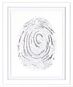 Silver Finger Print IV
