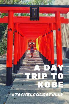 Take a day trip to Kobe from Osaka!