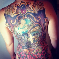 The Hobbit tattoo by Josh Wilcox at Heritage Tattoo in Las Vegas, NV. Using artwork by Iain McCaig. #tattoo #hobbittattoo #lotr #lasvegastattoo #tattoos #gandalf #iainmccaig #thelordoftherings #thehobbit