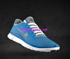 Nike Free 3.0 V4 Womens Black University Blue White