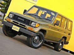 ランクル78プラド カーキグリーン×LINE-X塗装カスタムコンプリート Toyota Landcruiser Prado78