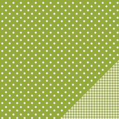 American Crafts Pebbles Basics Double Sided Cardstock Dot, , hi-res