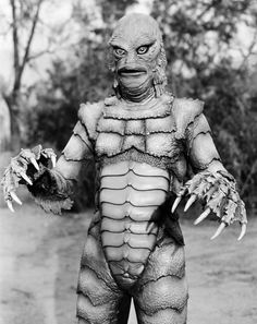 If 1954 monsters are your style for Halloween this year, you might want to go as Gill-man from the film The Creature From The Black Lagoon.