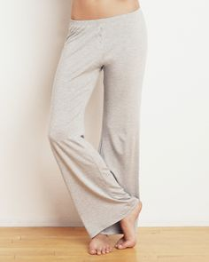 8d9eb72672405 Fly Front Pant - relax in these silky soft wide-legged