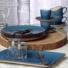 Ανανεώστε την κουζίνα σας με πολύχρωμα πιάτα! Decor Interior Design, Interior Decorating, Kitchenware, Tableware, Air B And B, Dinnerware, Home Goods, Kitchen Design, Dining Room