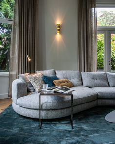 Portfolio interieurprojecten door Co van der Horst Outdoor Sectional, Sectional Sofa, Outdoor Furniture, Outdoor Decor, Van, Doors, Home Decor, Modular Couch, Decoration Home