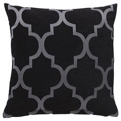 Fez Cushion - Black