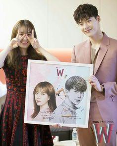 """Lee jong suk """"W Two worlds"""" Drama"""