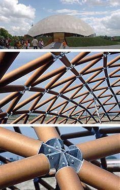 7. ANDERS BOUWEN Shigeru Ban Paper Dome - Cultuur19