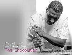 The Chocolatier in action.