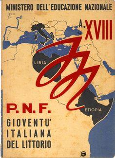 Propaganda de la Italia fascista.