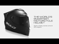 Futuristischer Motorradhelm mit Android #Android