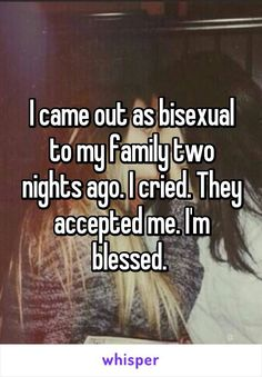 Bisexual real stories