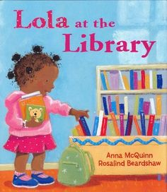 """""""Simple text and large, bright acrylic illustrations of this engaging African-American child make this selection just right for sharing. Perfect for instilling a love of libraries and books in the youngest patrons, it's a winner."""""""