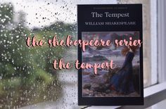 I'm starting 'The Shakespeare Series' on my blog today, and I'm beginning with the lyrical 'The Tempest'! Be sure to check it out 🎭 📚